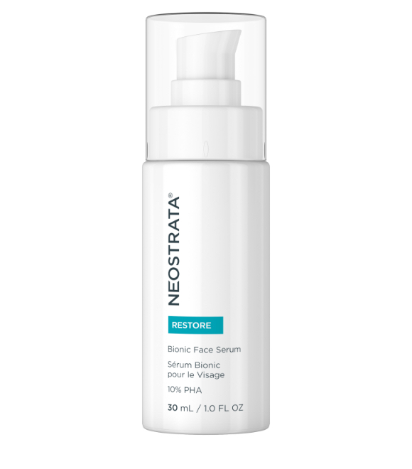 neostrata bionic face serum for targeting fine lines, wrinkles, pore size and evening skin tone