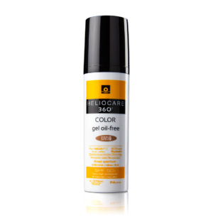 heliocare colour gel SPF50+, a powerful photoprotective fluid makeup containing antioxidants
