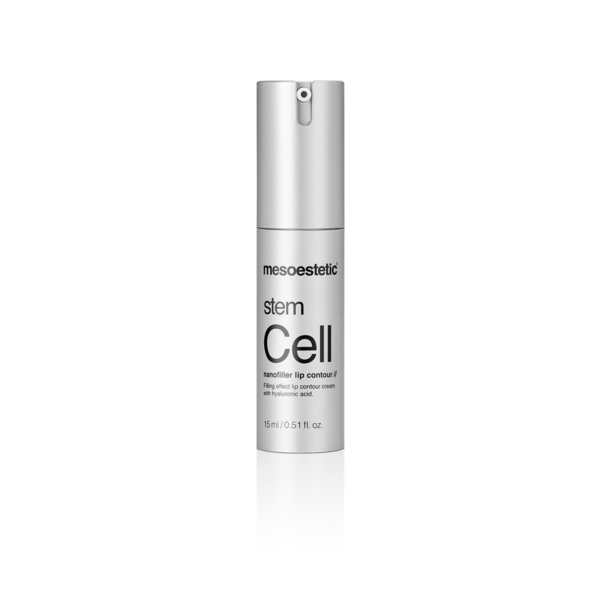 mesoestetic stem cell nonfiller lip contour treatment for improved collagen and elastin