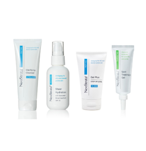 Neostrata blemish prone product pack for treating aging skin & targeting blemishes