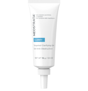 targeted clarifying gel for acne blemishes, oily breakout prone skin and other skin imperfections