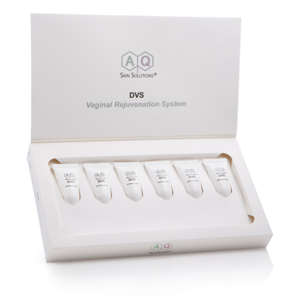 AQ Vaginal Rejuvenation System kit to help restore natural vaginal functions, relieve dryness and soothe irritation and inflammation System for