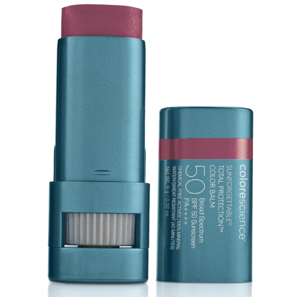 SPF50 total protection berry colour balm